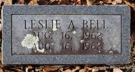 BELL, LESLIE A. - Garland County, Arkansas | LESLIE A. BELL - Arkansas Gravestone Photos