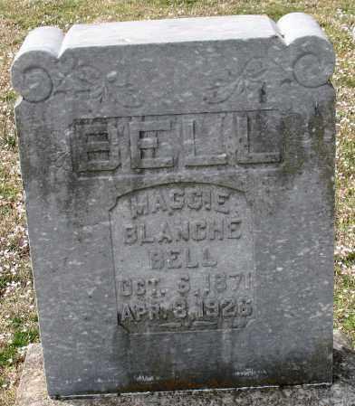 BELL, MAGGIE BLANCHE - Garland County, Arkansas | MAGGIE BLANCHE BELL - Arkansas Gravestone Photos