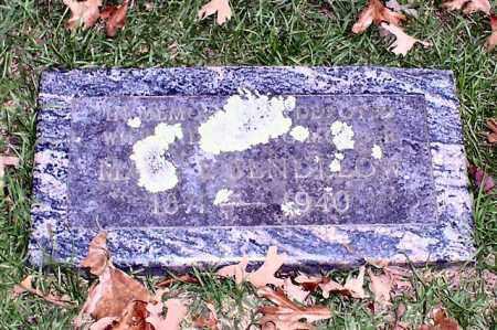 BENDELOW, MARY E. - Garland County, Arkansas | MARY E. BENDELOW - Arkansas Gravestone Photos