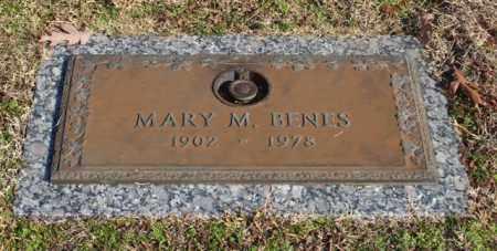BENES, MARY M - Garland County, Arkansas | MARY M BENES - Arkansas Gravestone Photos