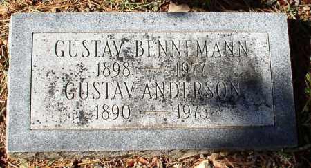 ANDERSON, GUSTAV - Garland County, Arkansas | GUSTAV ANDERSON - Arkansas Gravestone Photos
