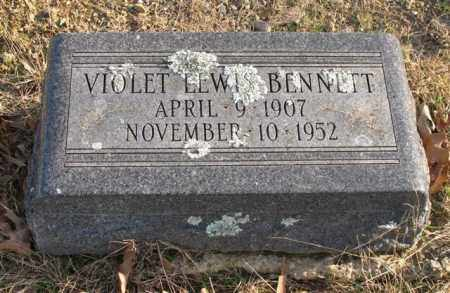 LEWIS BENNETT, VIOLET - Garland County, Arkansas | VIOLET LEWIS BENNETT - Arkansas Gravestone Photos