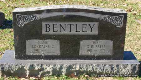 "BENTLEY, G. RUSSELL ""RUSS"" - Garland County, Arkansas 