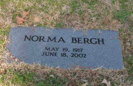 BERGH, NORMA - Garland County, Arkansas | NORMA BERGH - Arkansas Gravestone Photos