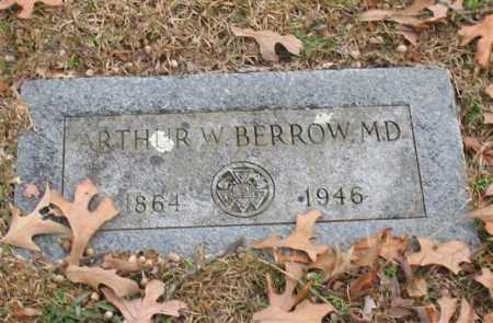 BERROW, ARTHUR W. - Garland County, Arkansas | ARTHUR W. BERROW - Arkansas Gravestone Photos