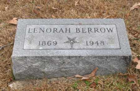 BERROW, LENORAH - Garland County, Arkansas   LENORAH BERROW - Arkansas Gravestone Photos