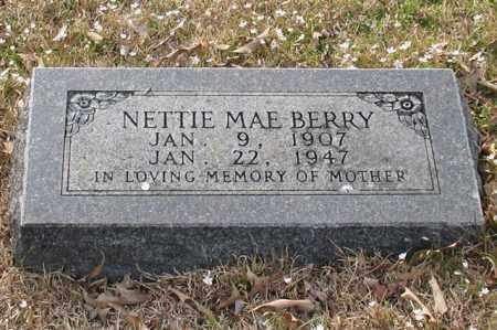 BERRY, NETTIE MAE - Garland County, Arkansas | NETTIE MAE BERRY - Arkansas Gravestone Photos