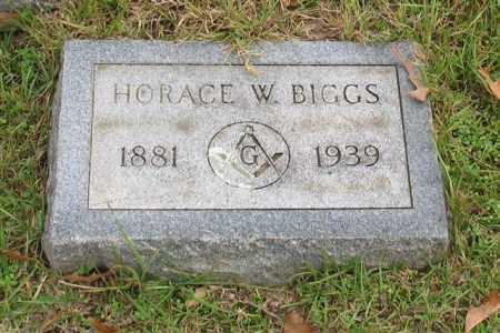 BIGGS, HORACE W. - Garland County, Arkansas | HORACE W. BIGGS - Arkansas Gravestone Photos