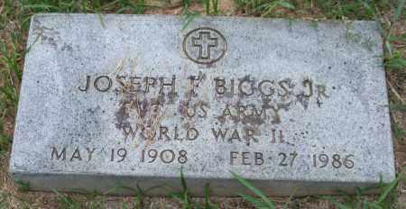 BIGGS, JR. (VETERAN WWII), JOSEPH F. - Garland County, Arkansas | JOSEPH F. BIGGS, JR. (VETERAN WWII) - Arkansas Gravestone Photos