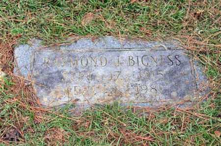 BIGNESS, RAYMOND J. - Garland County, Arkansas | RAYMOND J. BIGNESS - Arkansas Gravestone Photos