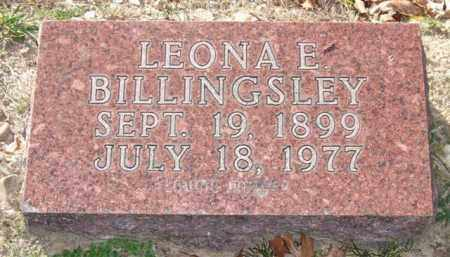 BILLINGSLEY, LEONA E. - Garland County, Arkansas | LEONA E. BILLINGSLEY - Arkansas Gravestone Photos