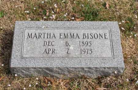 BISONE, MARTHA EMMA - Garland County, Arkansas | MARTHA EMMA BISONE - Arkansas Gravestone Photos