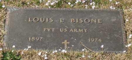 BISONE (VETERAN), LOUIS L - Garland County, Arkansas | LOUIS L BISONE (VETERAN) - Arkansas Gravestone Photos