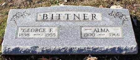 BITTNER, ALMA - Garland County, Arkansas | ALMA BITTNER - Arkansas Gravestone Photos