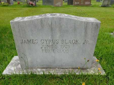 BLACK, JR., JAMES CYRUS - Garland County, Arkansas | JAMES CYRUS BLACK, JR. - Arkansas Gravestone Photos