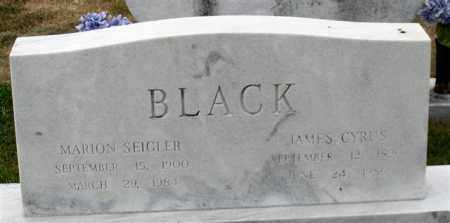 BLACK, MARION - Garland County, Arkansas | MARION BLACK - Arkansas Gravestone Photos