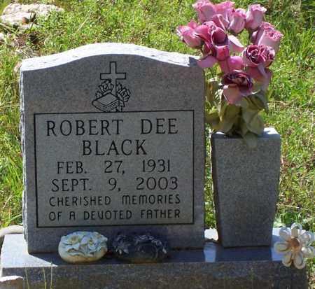 BLACK, ROBERT DEE - Garland County, Arkansas | ROBERT DEE BLACK - Arkansas Gravestone Photos