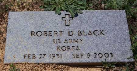 BLACK (VETERAN KOR), ROBERT D. - Garland County, Arkansas   ROBERT D. BLACK (VETERAN KOR) - Arkansas Gravestone Photos