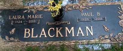 STORMENT BLACKMAN, LAURA MARIE - Garland County, Arkansas | LAURA MARIE STORMENT BLACKMAN - Arkansas Gravestone Photos