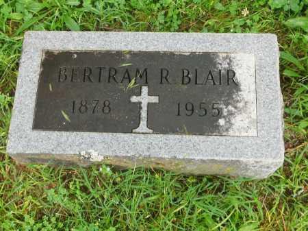 BLAIR, BERTRAM R. - Garland County, Arkansas   BERTRAM R. BLAIR - Arkansas Gravestone Photos