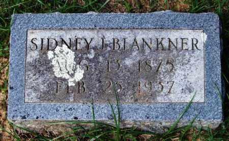 BLANKNER, SIDNEY J. - Garland County, Arkansas   SIDNEY J. BLANKNER - Arkansas Gravestone Photos