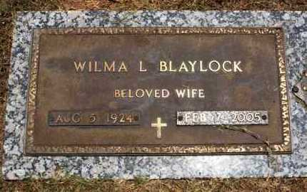 BLAYLOCK, WILMA L - Garland County, Arkansas | WILMA L BLAYLOCK - Arkansas Gravestone Photos