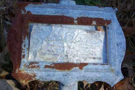 BLOCKER, LEO - Garland County, Arkansas   LEO BLOCKER - Arkansas Gravestone Photos