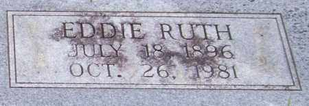BLYSTONE, EDDIE RUTH (CLOSE UP) - Garland County, Arkansas   EDDIE RUTH (CLOSE UP) BLYSTONE - Arkansas Gravestone Photos