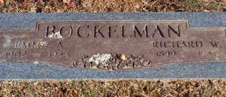 BOCKELMAN, RICHARD W - Garland County, Arkansas | RICHARD W BOCKELMAN - Arkansas Gravestone Photos