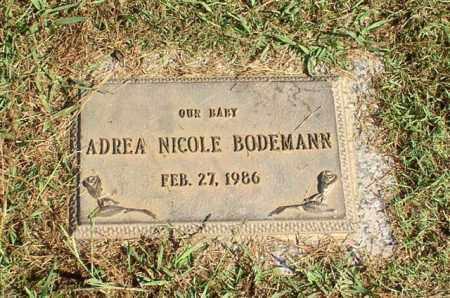 BODEMANN, ADREA NICOLE - Garland County, Arkansas | ADREA NICOLE BODEMANN - Arkansas Gravestone Photos
