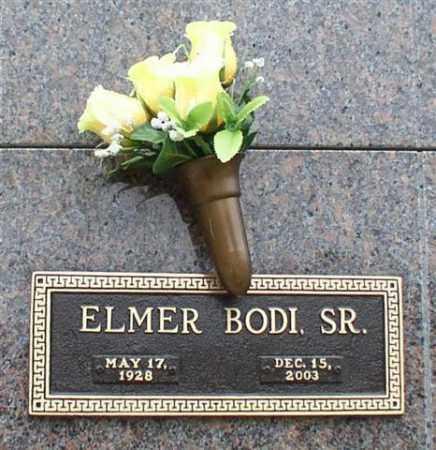 BODI, SR., ELMER - Garland County, Arkansas | ELMER BODI, SR. - Arkansas Gravestone Photos