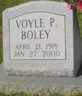 BOLEY, VOYLE P. - Garland County, Arkansas | VOYLE P. BOLEY - Arkansas Gravestone Photos