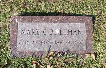 BOLTMAN, MARY C. - Garland County, Arkansas | MARY C. BOLTMAN - Arkansas Gravestone Photos