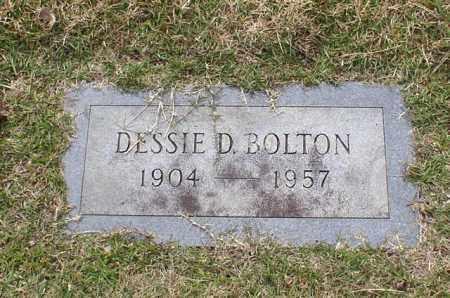 BOLTON, DESSIE D. - Garland County, Arkansas | DESSIE D. BOLTON - Arkansas Gravestone Photos