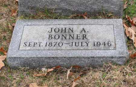 BONNER, JOHN A. - Garland County, Arkansas | JOHN A. BONNER - Arkansas Gravestone Photos