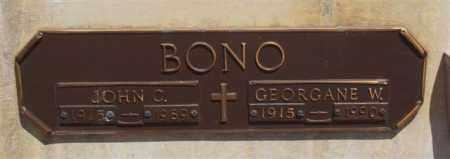 BONO, JOHN C - Garland County, Arkansas | JOHN C BONO - Arkansas Gravestone Photos