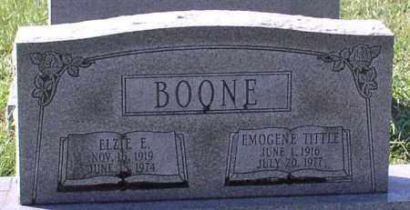 TITTLE BOONE, EMOGENE - Garland County, Arkansas | EMOGENE TITTLE BOONE - Arkansas Gravestone Photos