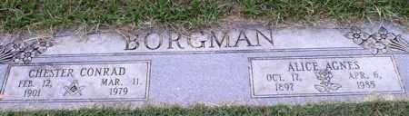 BORGMAN, CHESTER CONRAD - Garland County, Arkansas | CHESTER CONRAD BORGMAN - Arkansas Gravestone Photos