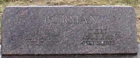 BORMAN, IRENE - Garland County, Arkansas | IRENE BORMAN - Arkansas Gravestone Photos