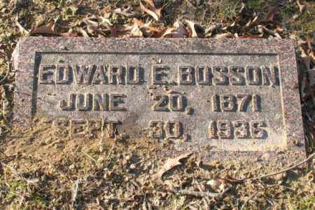 BOSSON, EDWARD E. - Garland County, Arkansas | EDWARD E. BOSSON - Arkansas Gravestone Photos