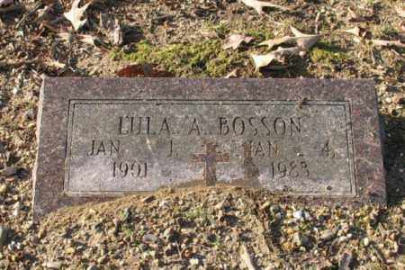 BOSSON, LULA A. - Garland County, Arkansas | LULA A. BOSSON - Arkansas Gravestone Photos