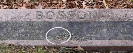 BOSSON, CARRA A. - Garland County, Arkansas   CARRA A. BOSSON - Arkansas Gravestone Photos