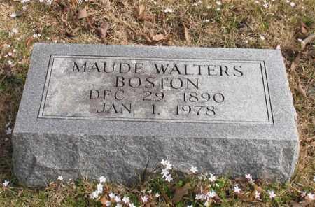 WALTERS BOSTON, MAUDE - Garland County, Arkansas | MAUDE WALTERS BOSTON - Arkansas Gravestone Photos