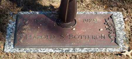 BOTTERON, HAROLD S. - Garland County, Arkansas   HAROLD S. BOTTERON - Arkansas Gravestone Photos