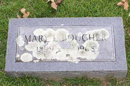 BOUCHER, MARY L. - Garland County, Arkansas   MARY L. BOUCHER - Arkansas Gravestone Photos