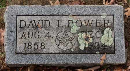BOWER, DAVID L. - Garland County, Arkansas | DAVID L. BOWER - Arkansas Gravestone Photos