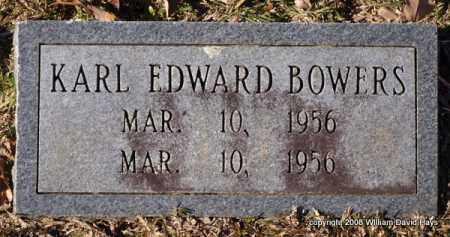 BOWERS, KARL EDWARD - Garland County, Arkansas | KARL EDWARD BOWERS - Arkansas Gravestone Photos