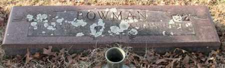 BOWMAN, WILLIAM CHESTER - Garland County, Arkansas | WILLIAM CHESTER BOWMAN - Arkansas Gravestone Photos