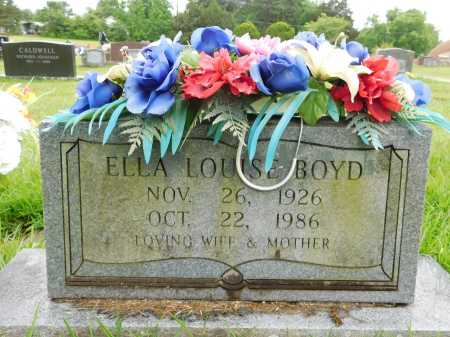 BOYD, ELLA LOUISE - Garland County, Arkansas   ELLA LOUISE BOYD - Arkansas Gravestone Photos