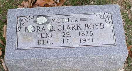 BOYD, NORA B. - Garland County, Arkansas | NORA B. BOYD - Arkansas Gravestone Photos